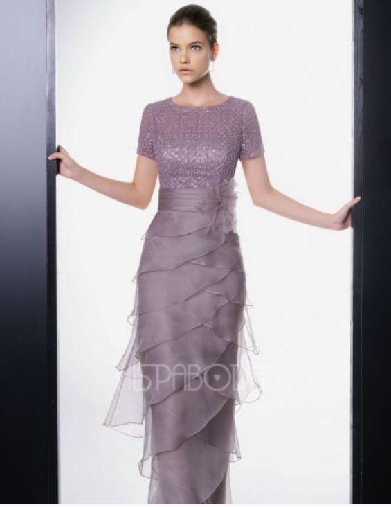 Este vestido lavanda me encanto