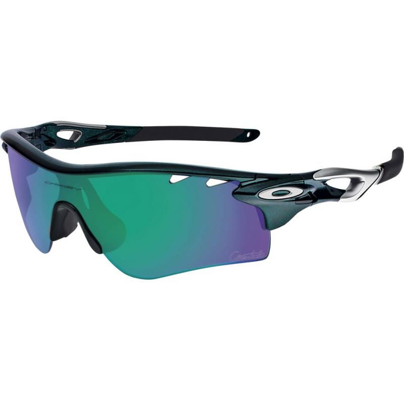f4e7a02b81 Oakley Mark Cavendish Signature Radarlock Path Metallic Green OO9181-15 -  Shade Station