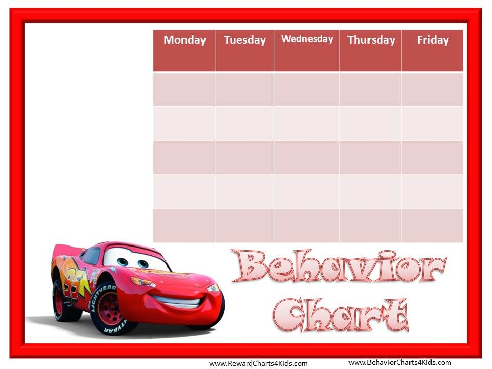 Behavior Chart  Kiddos    Behaviour Chart Chart And