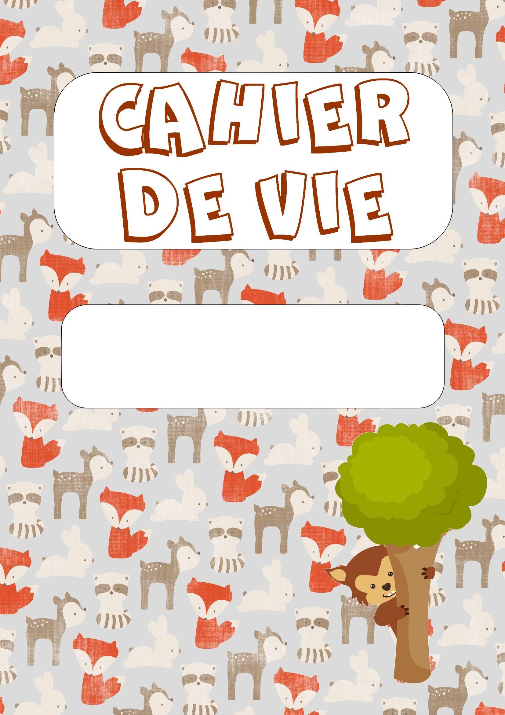 Cahier De Liaison Cahier De Vie Cahier De Vie Cahier De Vie Maternelle Cahier De Liaison