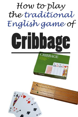 How To Play Cribbage Cribbage Card Games Playing Card Games