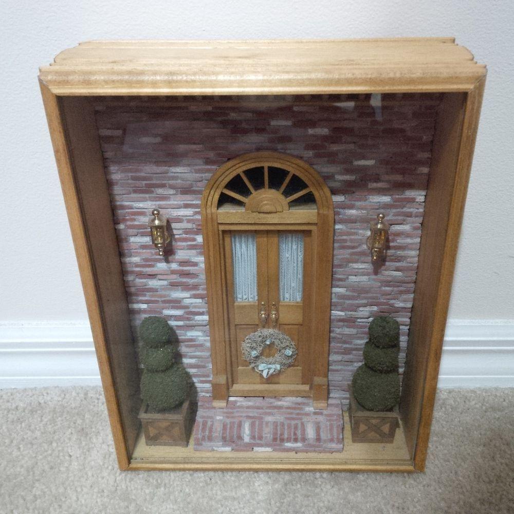 1:12 Dollhouse Miniature Room Box