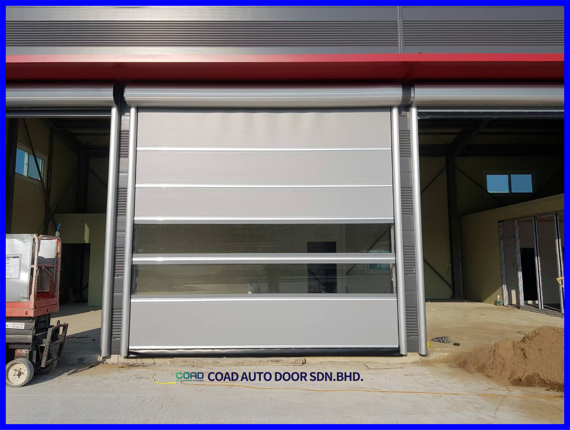 Protect From Dust And Pest By Using Coad High Speed Door Types