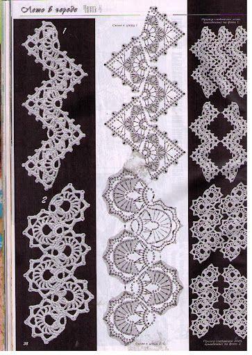 crochet pattern | Häkeln Kettenmuster - crochet | Pinterest | Tejido ...