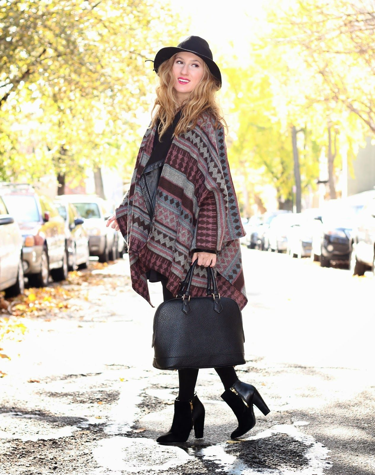Blanket Cape   Winter fashion, New years eve outfits ...