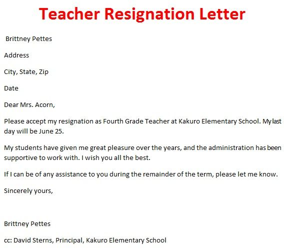 resignation letter to parents of students - Boatjeremyeaton