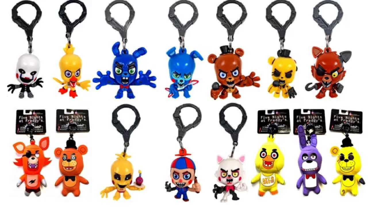 FNAF Five Nights At Freddys Plush & Figures Coming to Hottopic ...