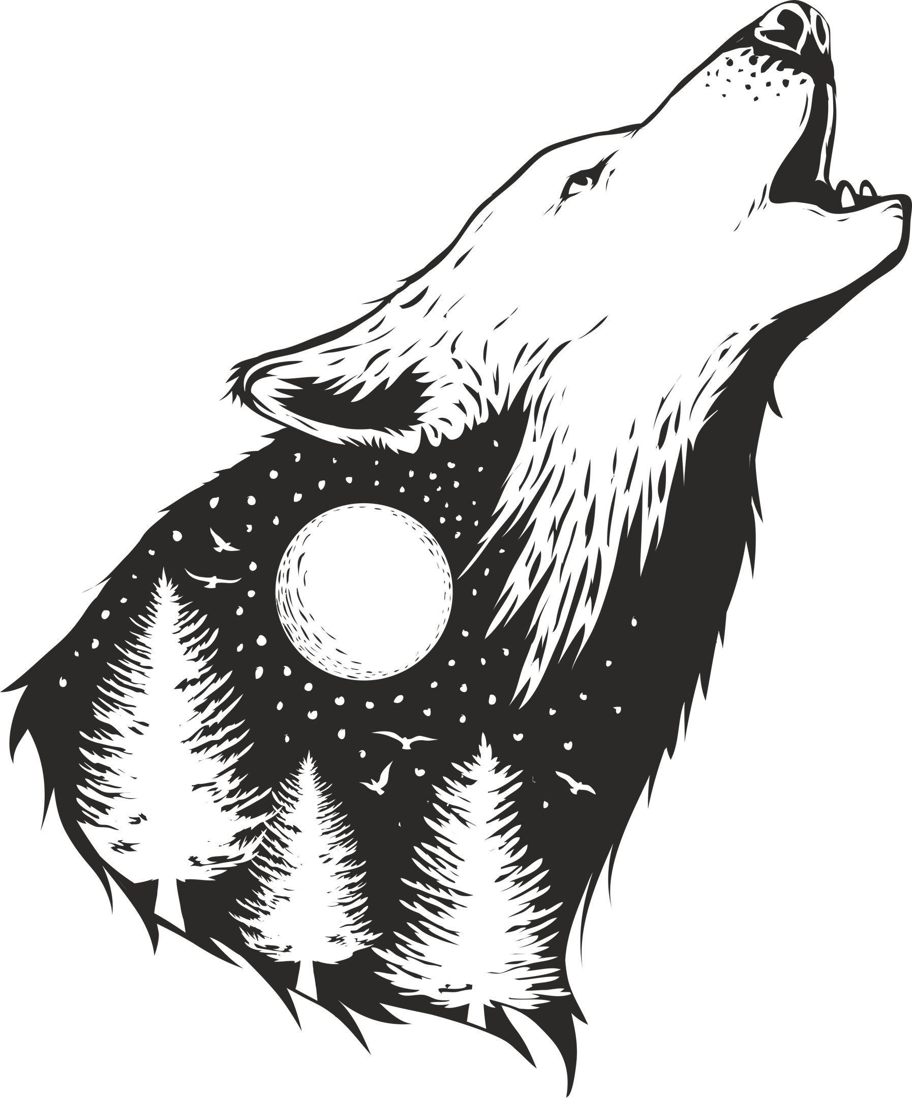Pin by Mary Body on Wolf print Wild wolf, Geometric