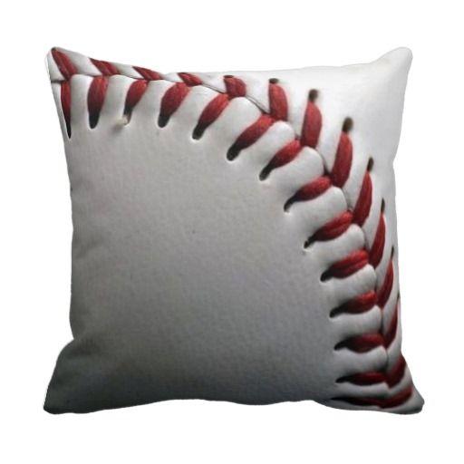 Baseball Pillow on Branddot