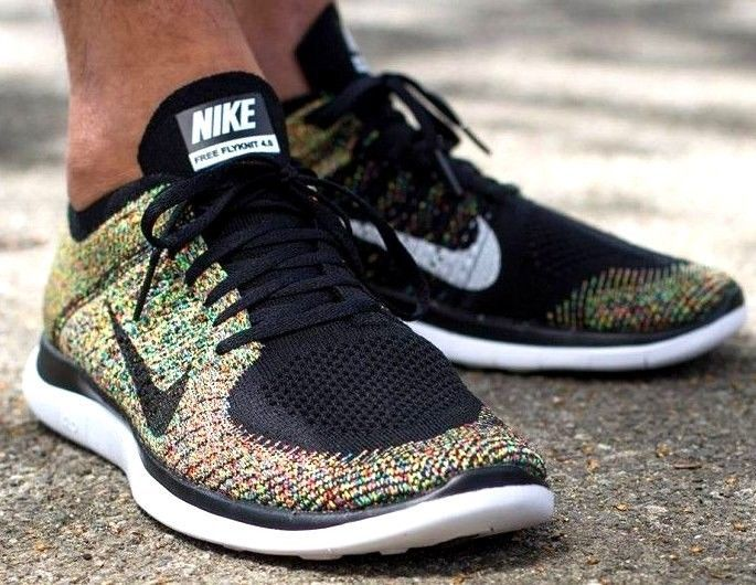 nike free run 4.0 flyknit multicolor racer