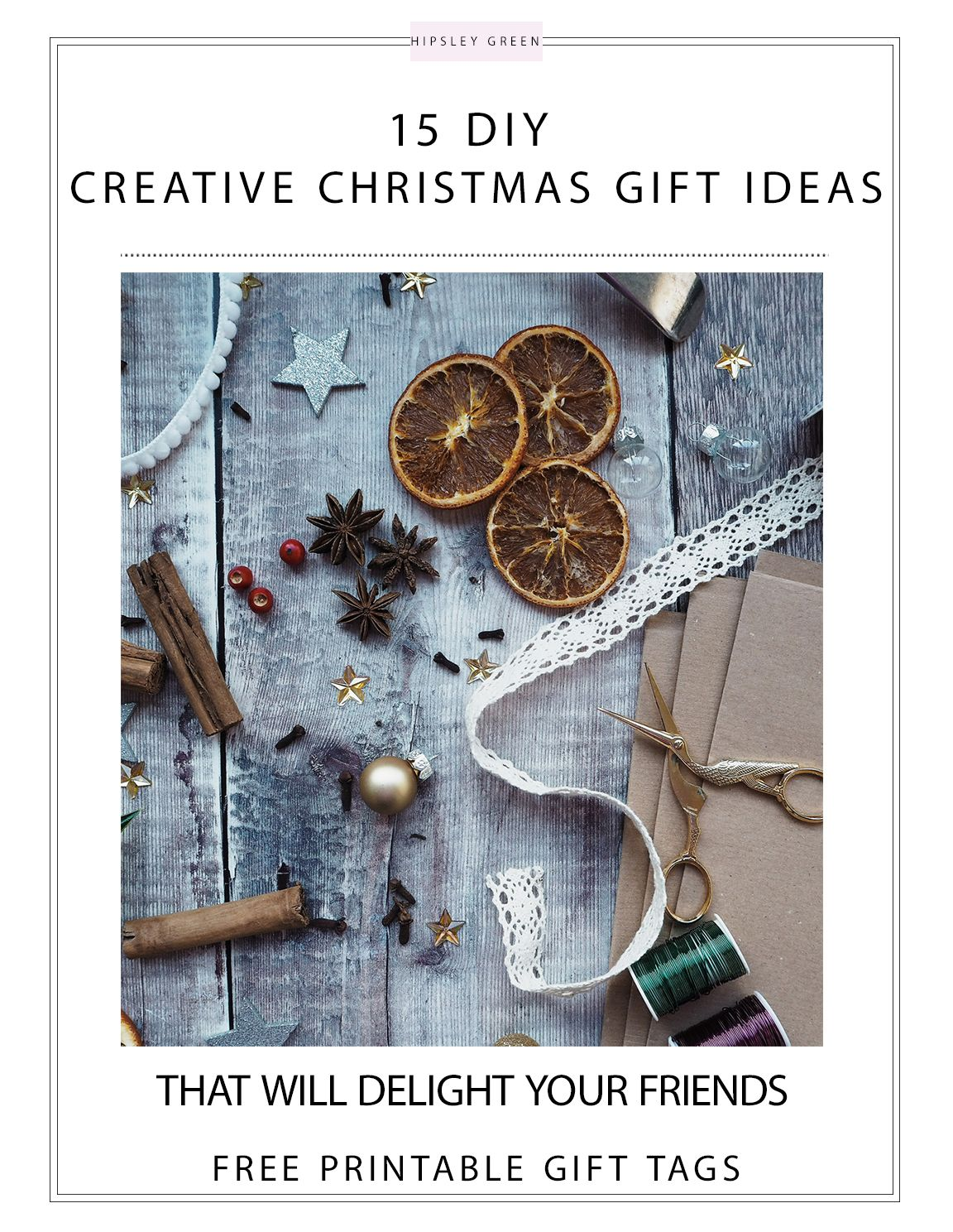 Creative and easy homemade christmas gift ideas