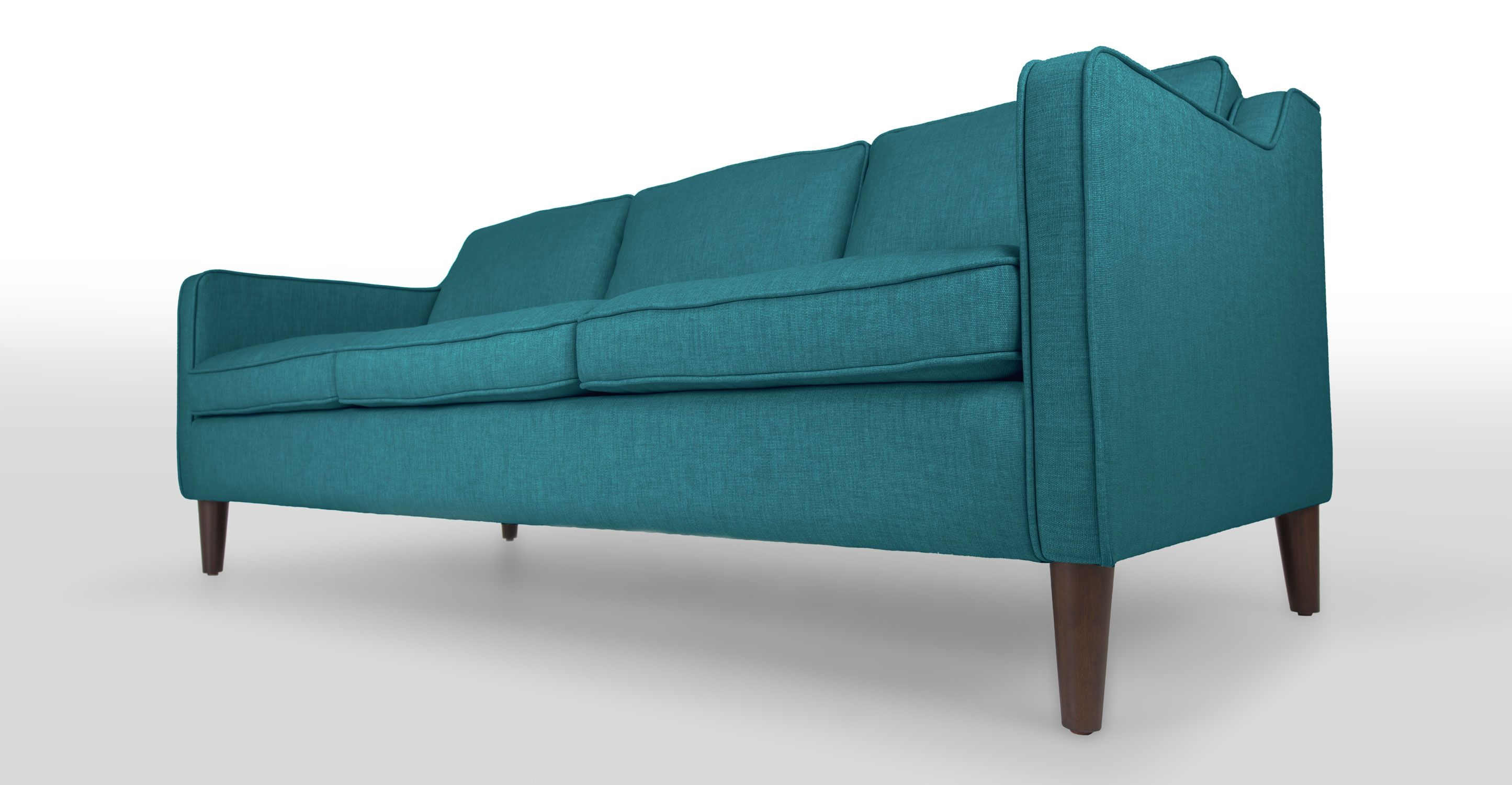 teal mid century modern sofa cherie mid century modern furniture teal sofa scandinavian. Black Bedroom Furniture Sets. Home Design Ideas