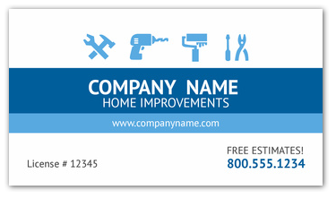 home remodeling business cards - Google Search | Mens | Pinterest