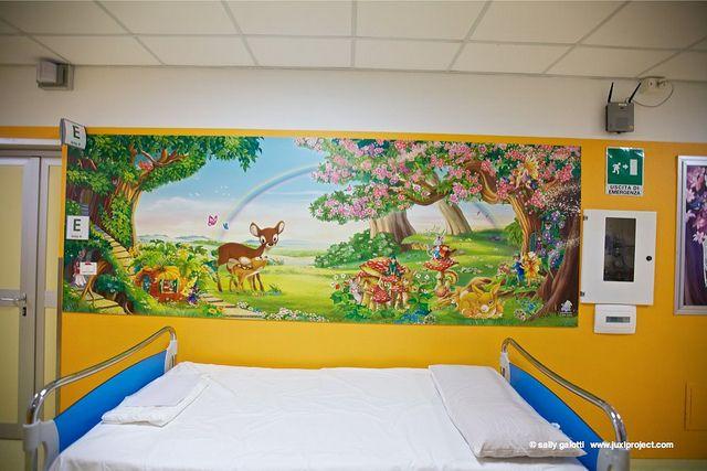 Reparto di Pediatria Specialistica del Policlinico S