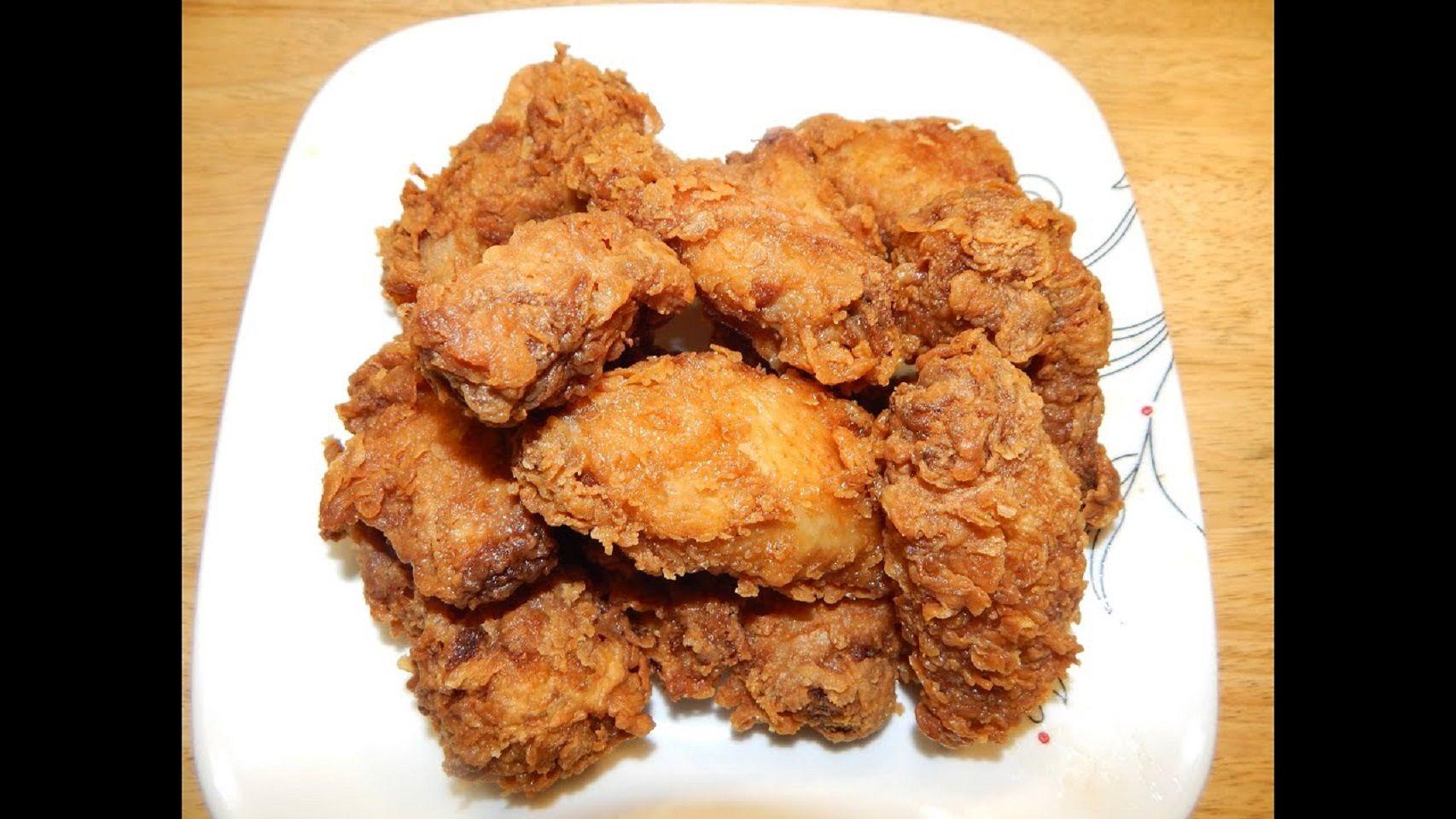 Buttermilk Fried Chicken Wings Recipe In 2020 Marinated Chicken Recipes Buttermilk Fried Chicken Chicken And Beef Recipe