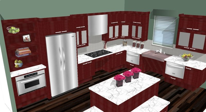 Best Kraftmaid® Accessible Kitchen For Extreme Makeover Home 400 x 300