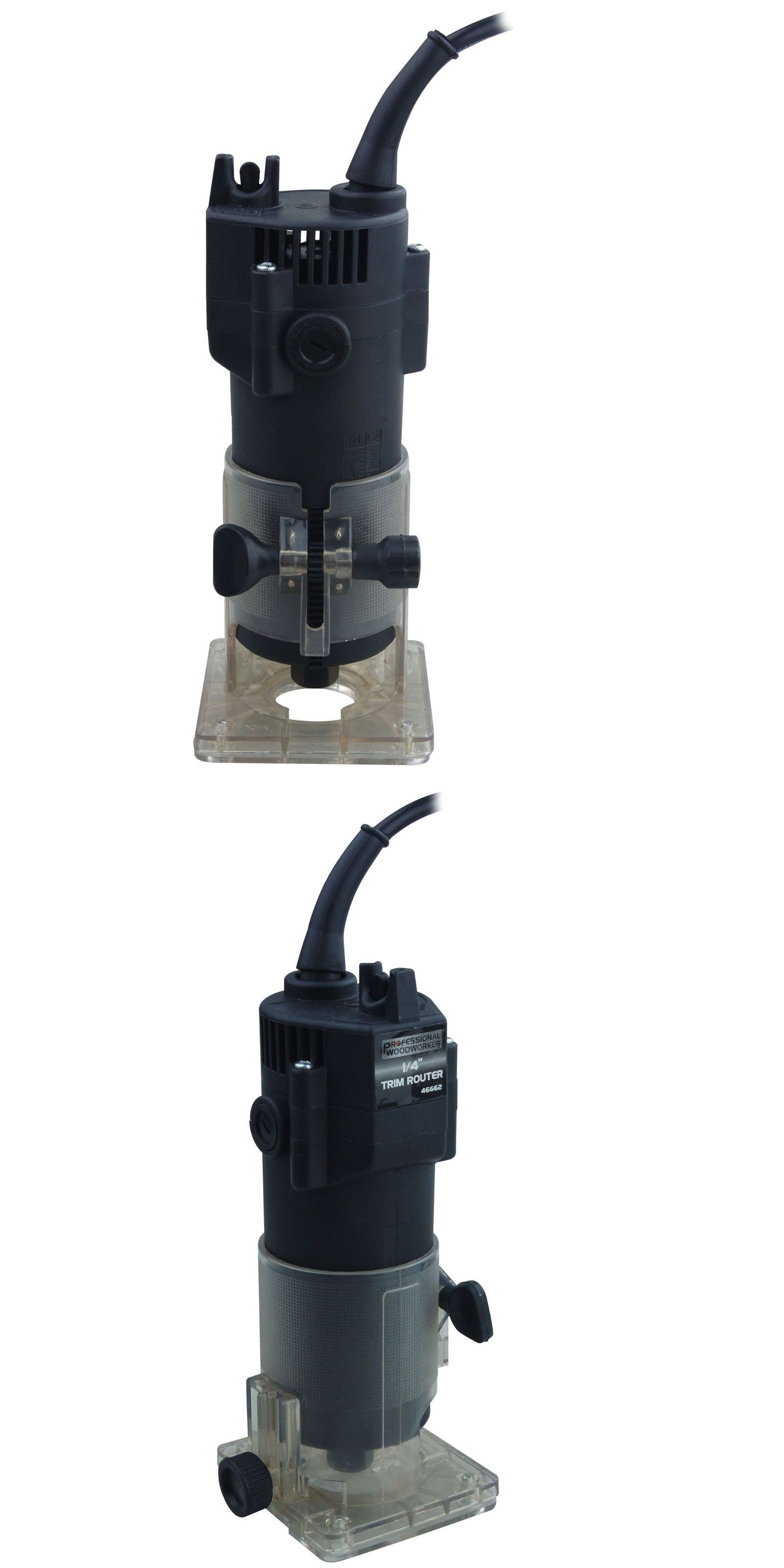 Details about Professional Woodworker Electric Trim Router ...