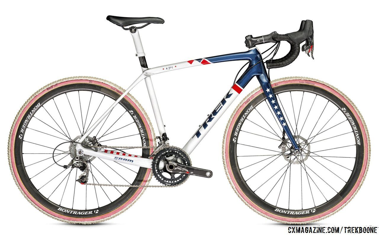 katie compton 39 s new trek boone carbon cyclocross bike with. Black Bedroom Furniture Sets. Home Design Ideas