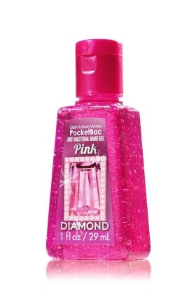 Pink Diamond Pocketbac Sanitizing Hand Gel Anti Bacterial Bath
