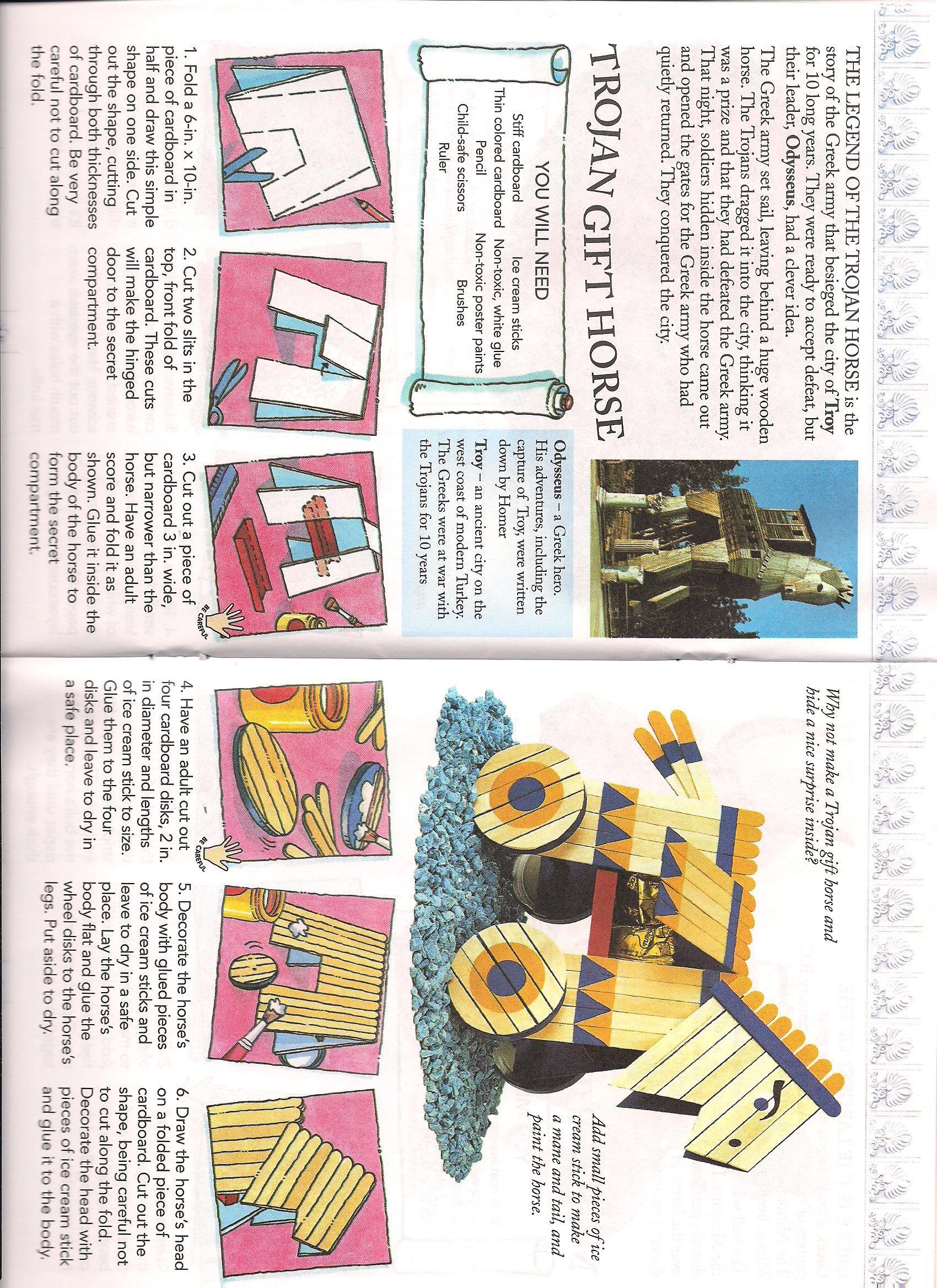 Trojan Horse Ancient History Lessons Trojan Horse Ancient World History