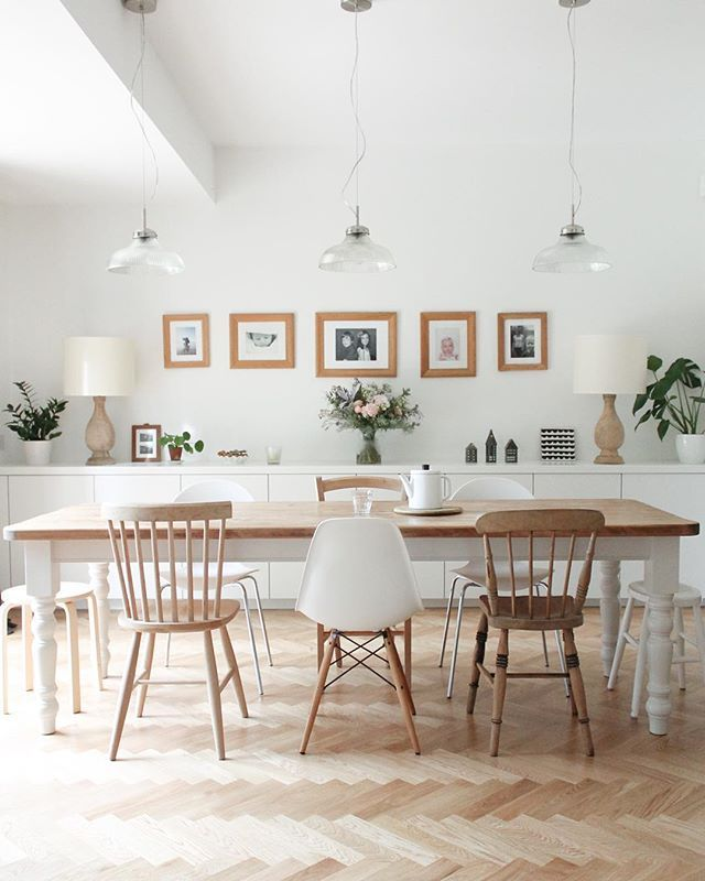 The gorgeous @juliabesidethesea is over on the a quiet style blog - Beautiful Dining Rooms
