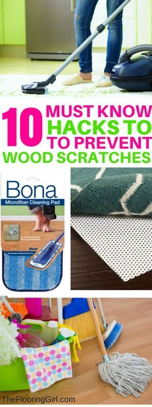 How To Prevent Scratches In Your Hardwood Flooring Cleaning Hacks Clean House House Cleaning Tips