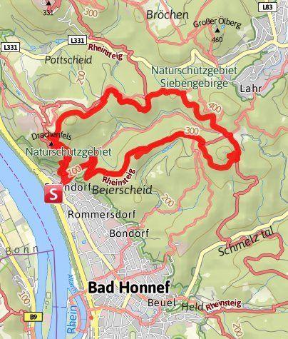 Traumrunde Ausflug Nrw Drachenfels Gebirge