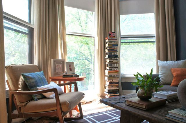 Love floating bookcases