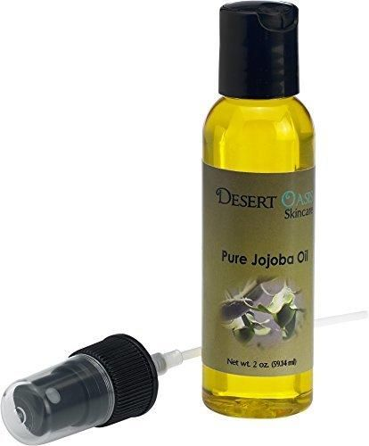 100% Pure Jojoba Oil 2 fluid oz (59 ml) with spray applicator