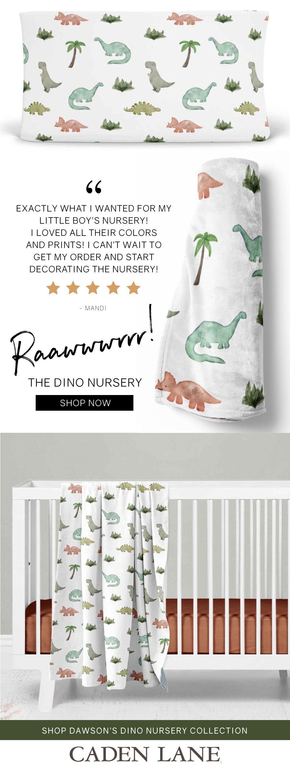 THE DINOSAUR NURSERY #dinosaurnursery