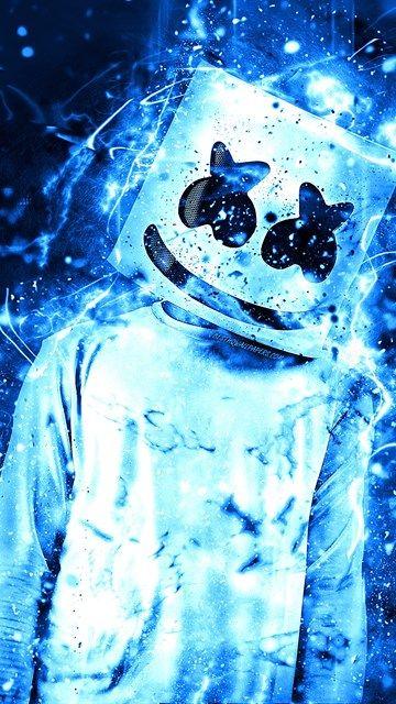 Pin On Oboi Dlya Telefona Blue joker wallpaper iphone
