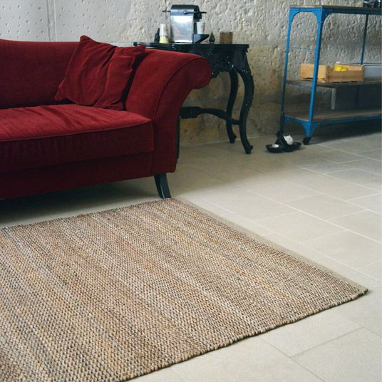 tapis ethnic en jute racine 120 x 170 cm tapis. Black Bedroom Furniture Sets. Home Design Ideas