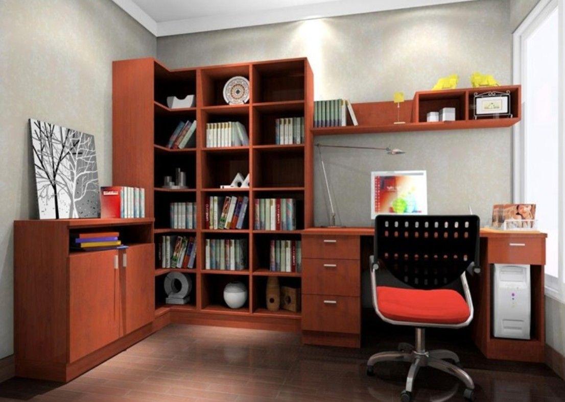 Modern 3d model interior study room Home crafts, Study