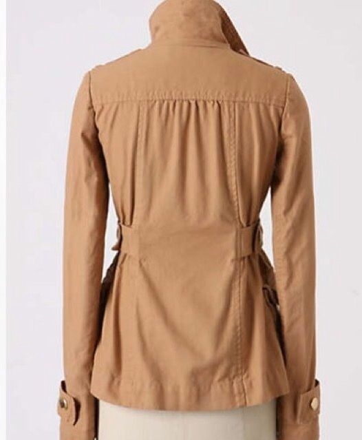( back shot) Sunner jacket for anthro