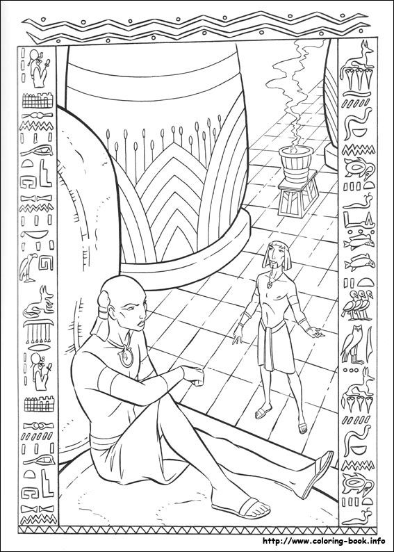 The Prince Of Egypt Coloring Picture Spiderman Coloring Prince