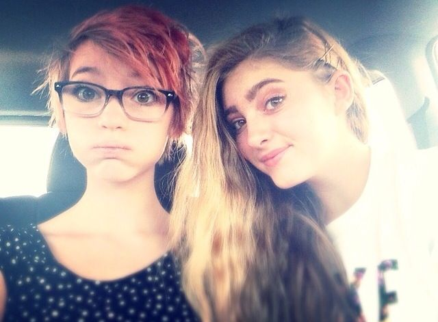 Willow Shields and Autumn Shields