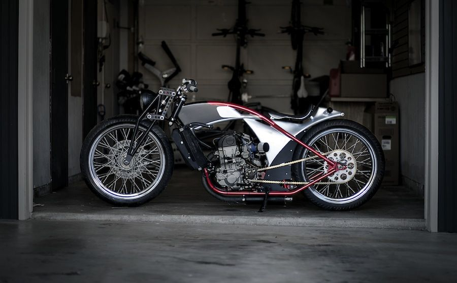 custom built cafer racer style motorcycle for sale (current price