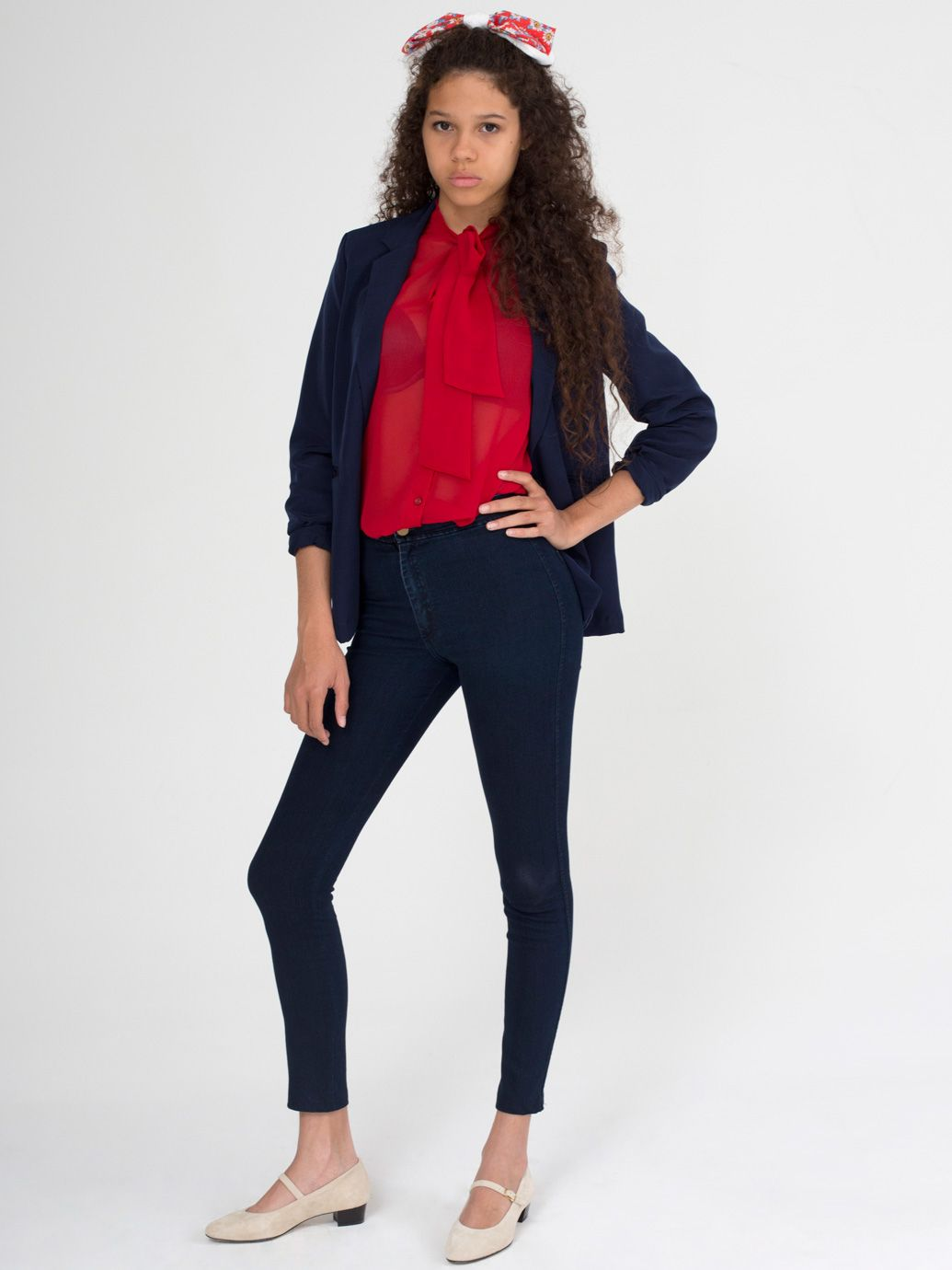 4ecc3eba5c71 American Apparel - Easy Jean (To copy all the Bridgett outfits from the 50s)