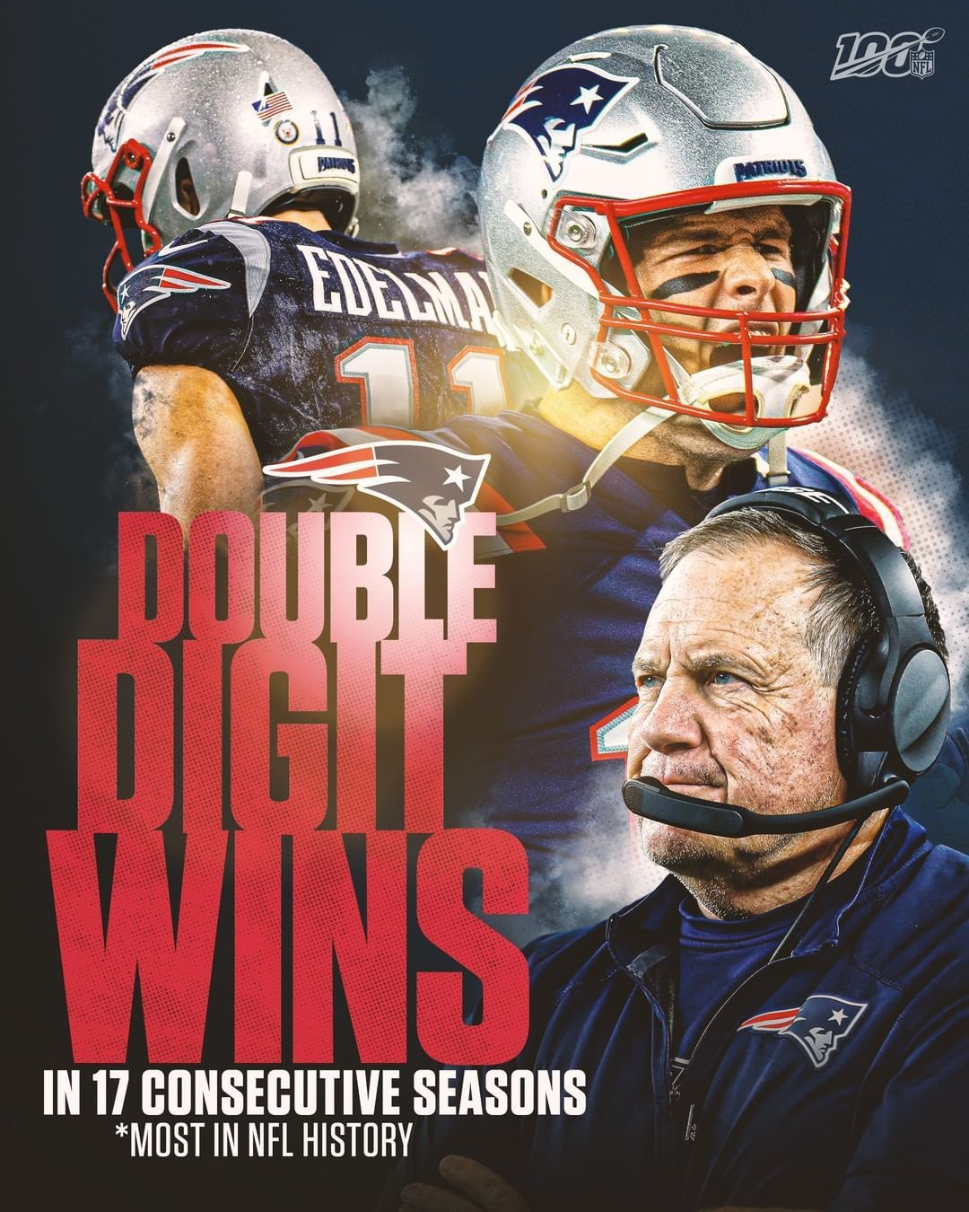 Nfl The Definition Of Dynasty Nevshou Tomorrow At 8 20pm Et On Nbc Nfl App Nfl History Nfl New England Patriots