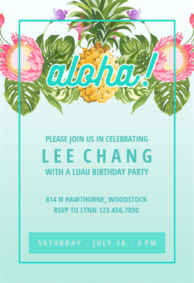 Pinterest  Free Customizable Invitation Templates