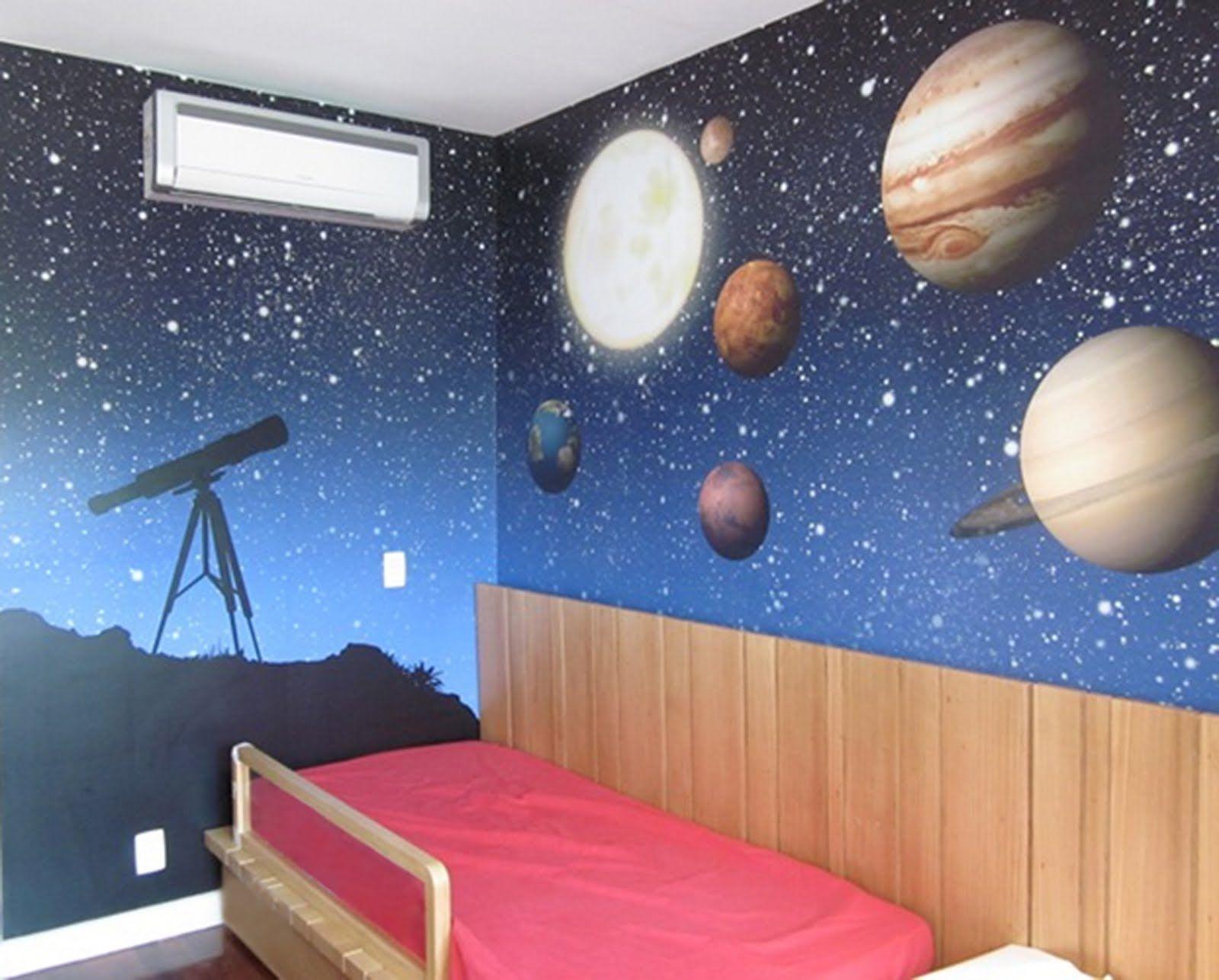 decoração quarto sistema solar - Pesquisa Google
