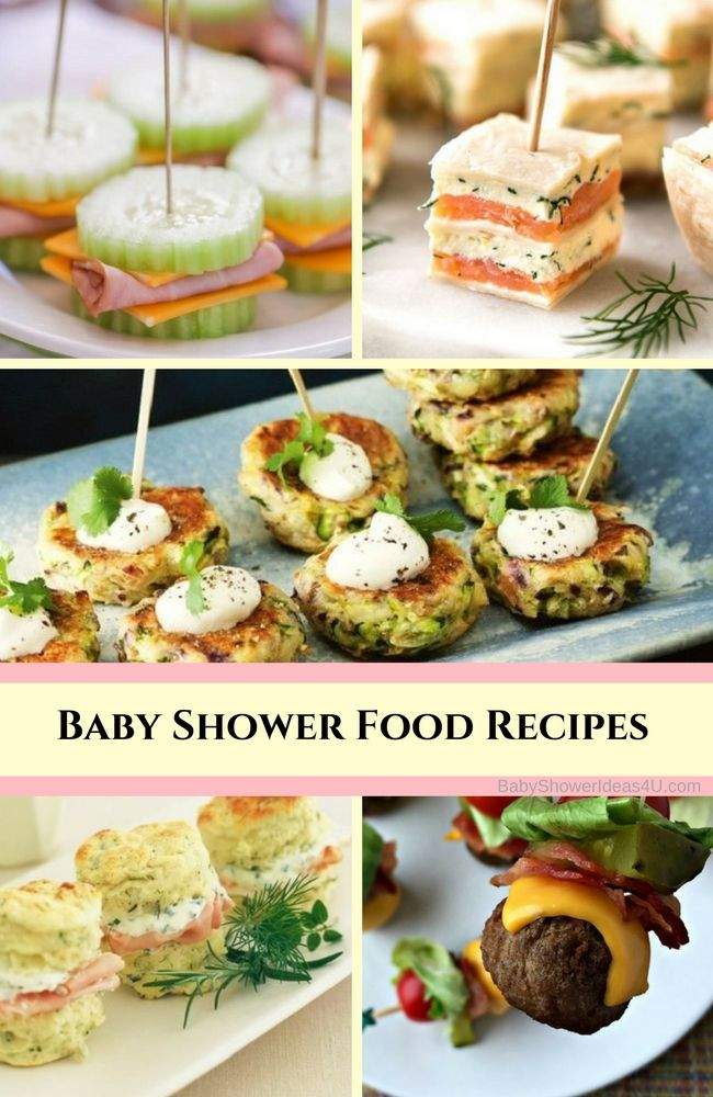 Simple Baby Shower Food Recipes Baby Shower Food Drink