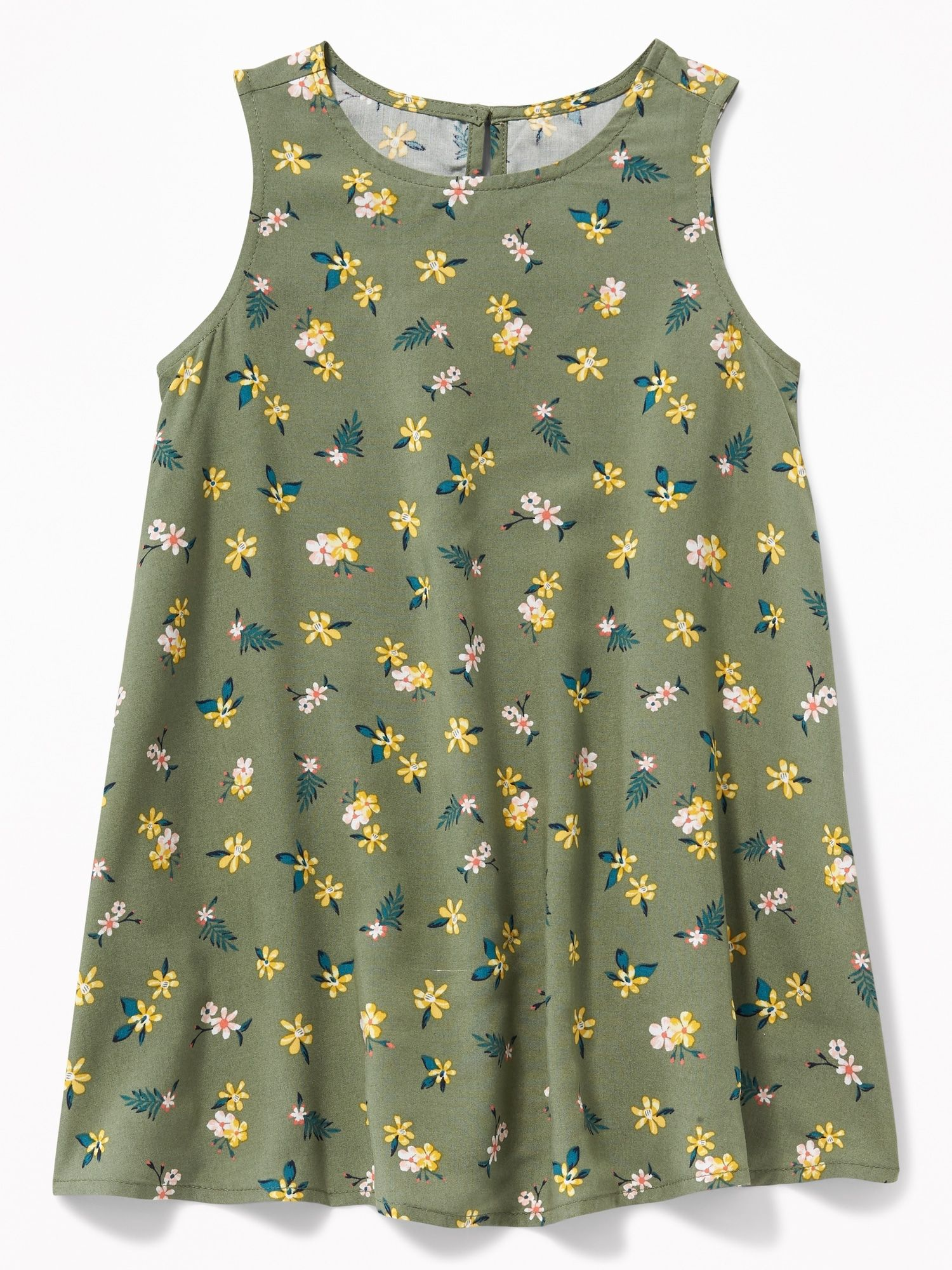 dfda93073 Printed Sleeveless Swing Dress for Toddler Girls | Old navy ...