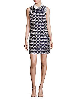 bfbd1c10934 Trina Turk Queen Bee Jacquard Shift Dress