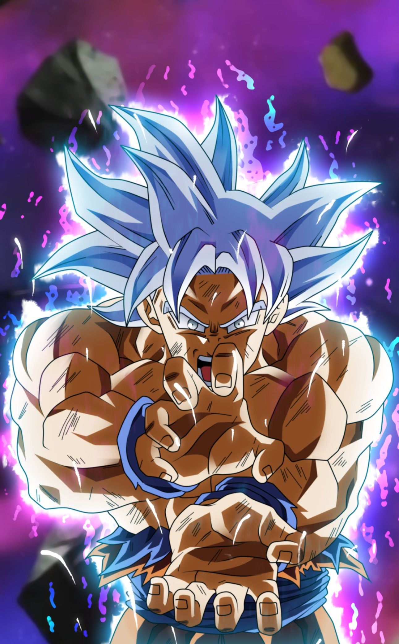 Goku Ultra Instinct Dragon Ball Super Fond D Ecran Fond