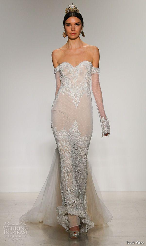 Julie Vino Fall 2016 Santorini Wedding Dresses New York Bridal Runway Show