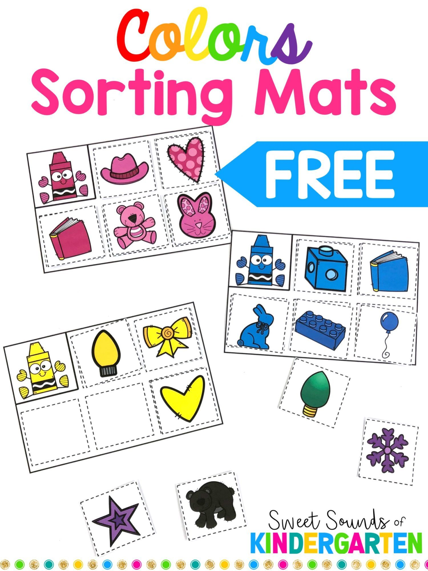 Colors Sorting Mats Game