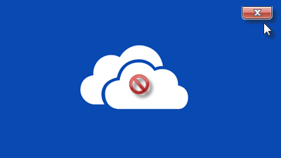 Uninstall OneDrive from Windows 10