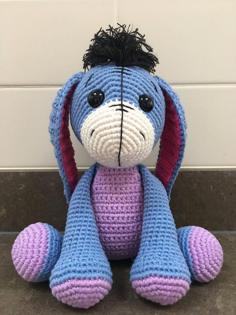 Amigurumi Crochet Eeyore Toy [Free Pattern]   1059x794