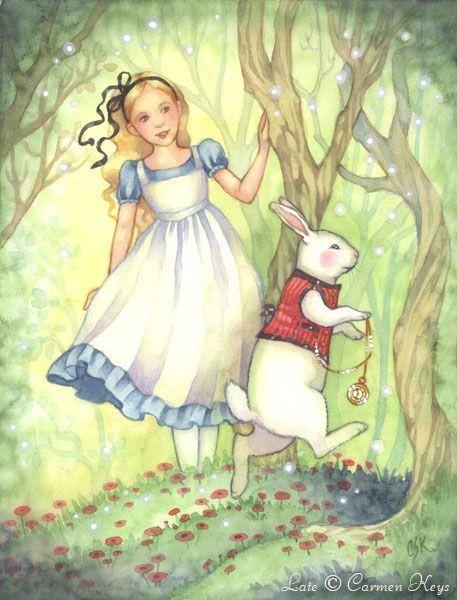 Alice's Wonderland Ch. 1 Down The Rabbit Hole  Serafini ...